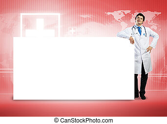 医者, ∥で∥, 旗