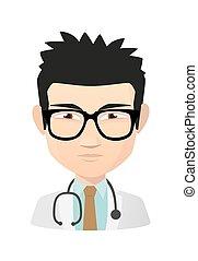 医者, アジア人, avatar