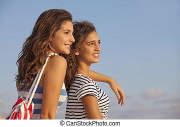 十代の若者たち, 休暇
