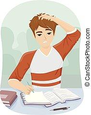 十代, 人, 失望させられた, 勉強しなさい