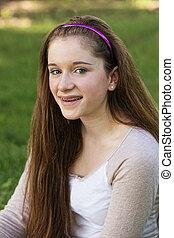 十代, 微笑の女の子