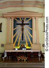 十字架像, キリスト, 教会, 祭壇