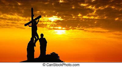 十字 の イエス・キリスト キリスト