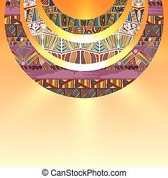半円形, 要素, 抽象的, ベクトル, 背景, 種族