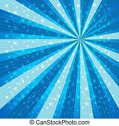 半徑, 速度, 線, 星, 背景。