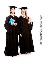 卒業する, 生徒