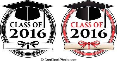 卒業のクラス, 2016