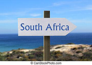南アフリカ, 印, ∥で∥, 海岸, 中に, ∥, 背景