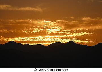 南カリフォルニア, 日の出