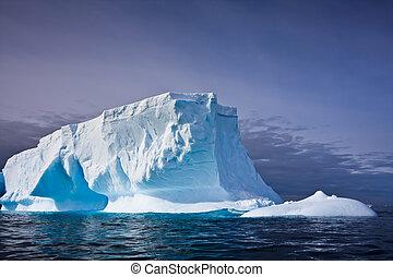 南极洲, 冰山