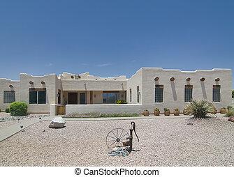 南西, 砂漠, 家