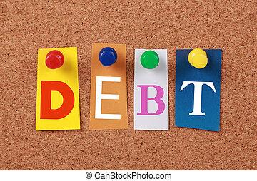 単一, 負債, 単語