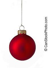 単一, 赤, クリスマス安っぽい飾り