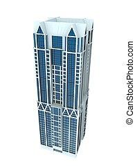 単一, 超高層ビル
