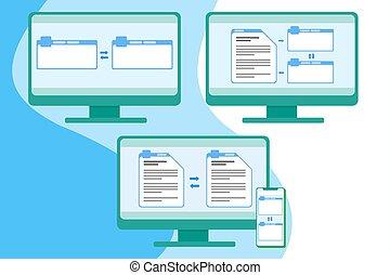 単純である, インターフェイス, 翻訳, 道具, ユーザー