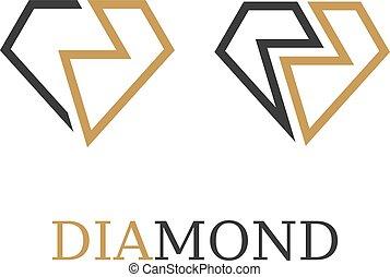 単純である, シンボル, ダイヤモンド, ベクトル