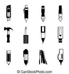 単純である, 文房具, グラフィック, ve