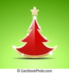 単純である, 木, グロッシー, クリスマス