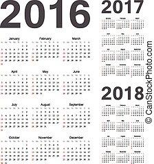 単純である, 2017, 2016, 2018, ヨーロッパ