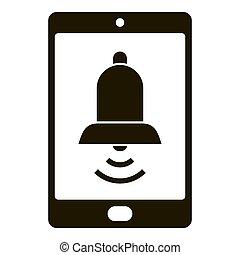 単純である, smartphone, アイコン, ringtone, スタイル