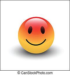 単純である, smiley, 幸せ