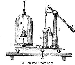 単純な機械, 空気, 彫版, 型