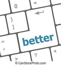 単語, よりよい, pc コンピュータ, キー, キーボード