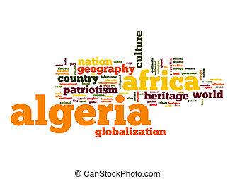 単語, アルジェリア, 雲