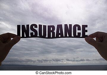 単語, シルエット, 保険