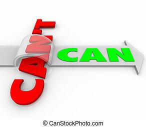単語, ジャンプする, ∥対∥, 障害, 決定, 缶, 矢, 上に, can't