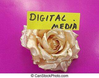 単語, デジタルの媒体