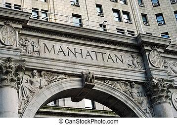 ∥, 単語, マンハッタン, 外, ∥, 市の, 建物