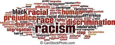 単語, 人種差別, 雲