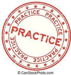 単語, 切手, 練習, ゴム, 背景, シール, グランジ, 星, 白, ラウンド, 赤, アイコン