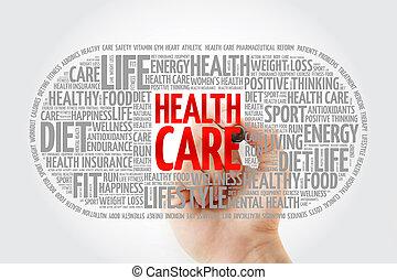 単語, 医療の健康, 丸薬, 雲, 心配