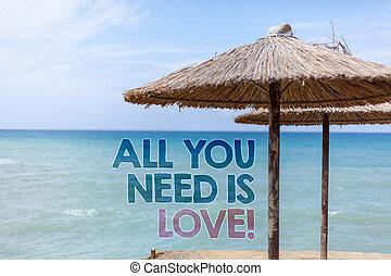 単語, 執筆, テキスト, すべて, あなた, 必要性, ある, 愛, motivational., ビジネス 概念,...