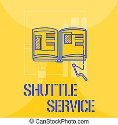 単語, 執筆, テキスト, シャトル, service., ビジネス 概念, ∥ために∥, 車, のように, バス, 旅行, frequently, ∥間に∥, 2, 場所