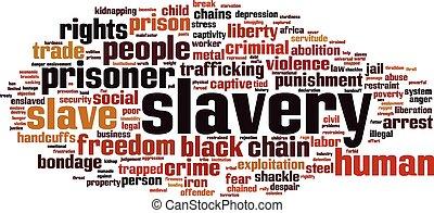 単語, 奴隷制度, 雲