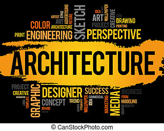 単語, 建築, 雲