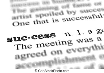 単語, 成功
