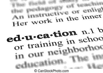 単語, 教育