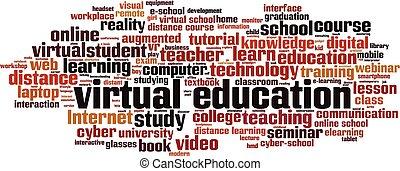 単語, 教育, 雲, 事実上