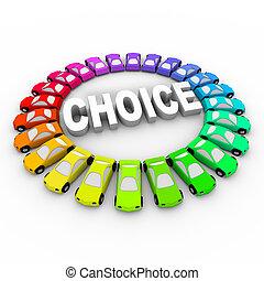 単語, 有色人種, 自動車, -, 選択, のまわり