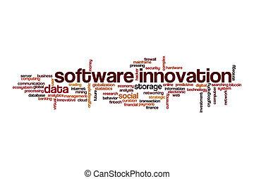 単語, 概念, 雲, 革新, ソフトウェア