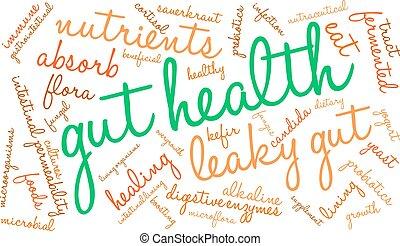 単語, 消化器官, 健康, 雲