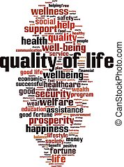 単語, 生活, 品質, 雲