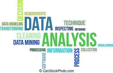 単語, 雲, -, データ, 分析