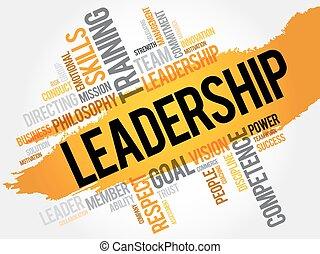 単語, 雲, リーダーシップ