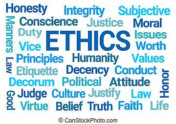単語, 雲, 倫理