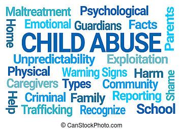 単語, 雲, 児童虐待